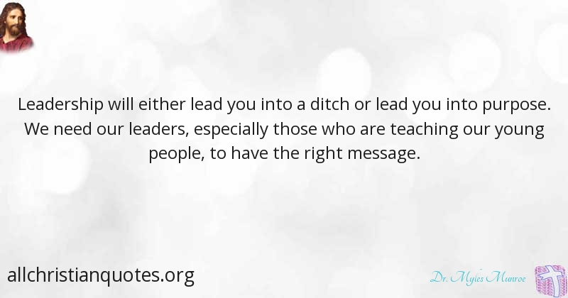 dr myles munroe quote about leadership people young youth
