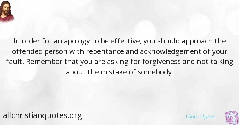 opoku onyinah quote about repentance apology approach