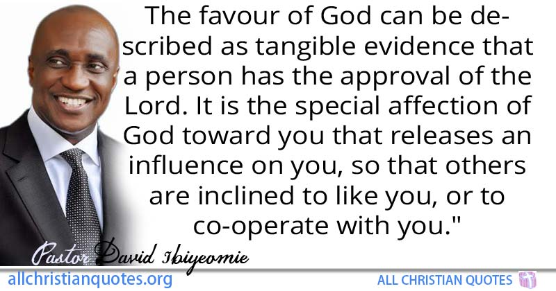 David Ibiyeomie Quote About Evidence Favour You Release