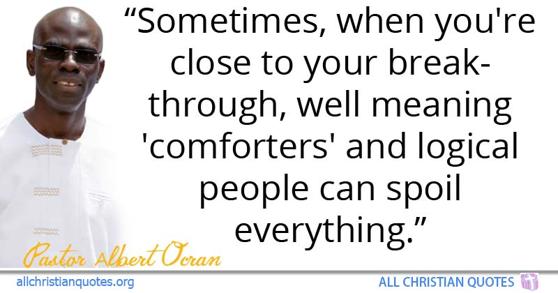 Greatest 25 Motivational Christian Quotes About breakthrough