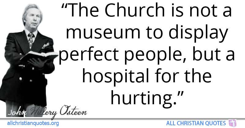 John H. Osteen Quote about: #Church, #Kidnap, #Mouths ...