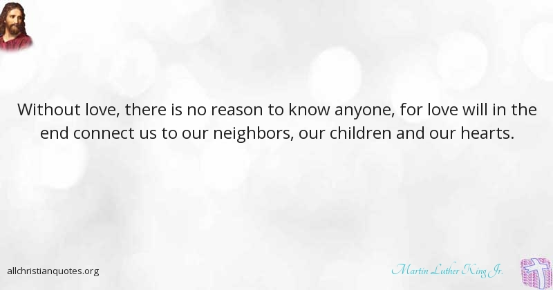 Martin Luther King Jr Quote About Love Reason Travel