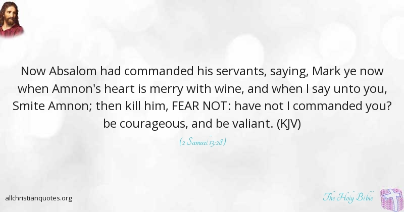 The Holy Bible Quote About Fear Not Arrow Vain All