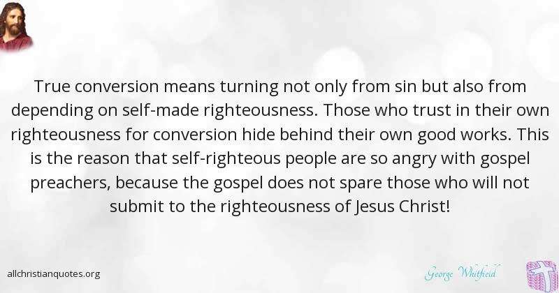 George Whitefield Quote about: #Jesus Christ, #Gospel ...