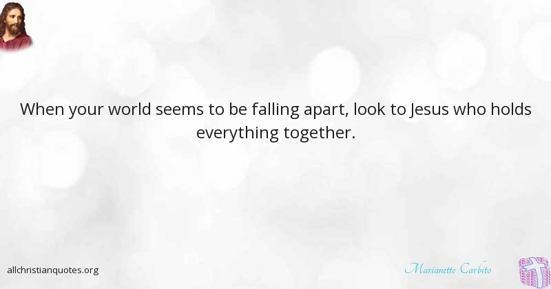 Marianette Carbito Quote about: #Everything, #World ...