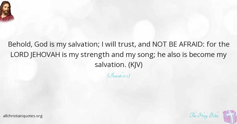 Greatest 31 Motivational Bible Quotes About salvation - All