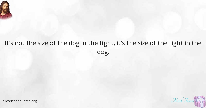 Mark Twain Quote About Fight Not Confides Counterfeit All