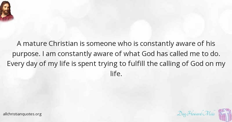 What is a mature christian