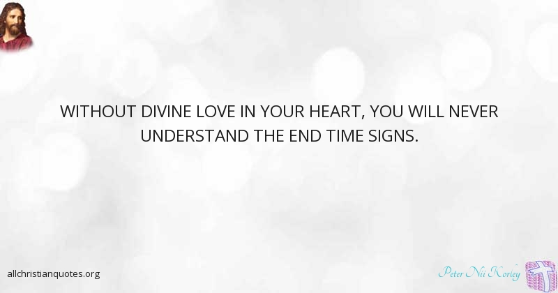 Peter Nii Korley Quote About Sunday Love Understand Sign
