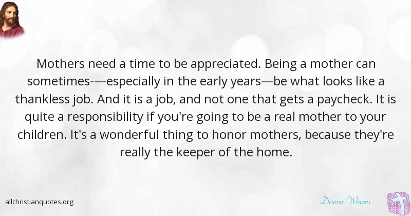 Delores Winans Quote about: #Children, #Responsibility ...