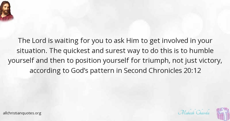 Mahesh Chavda Quote About Position Situation Humble Waiting