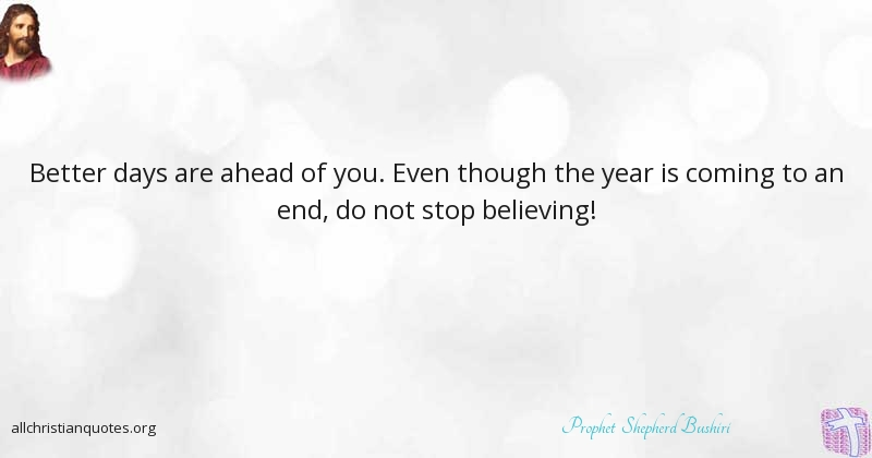Prophet Shepherd Bushiri Quote About Stop Better Believing