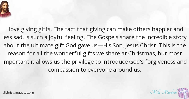 Mike Murdock Quote About Christmas Important Gifts Others