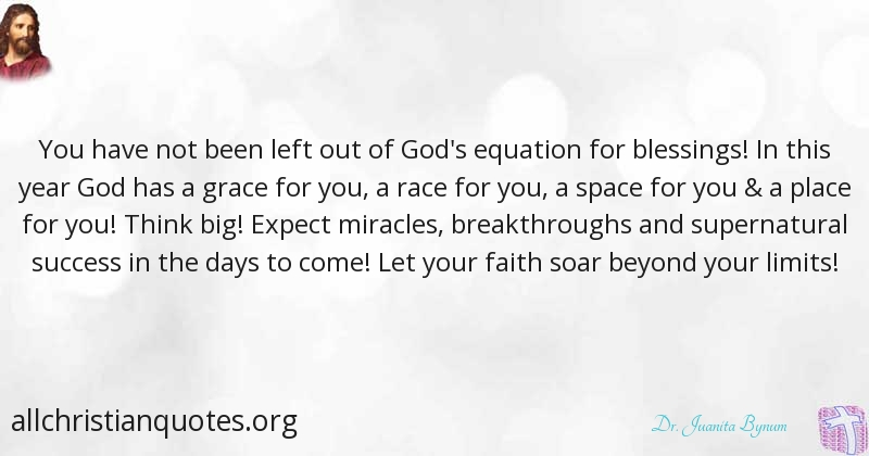Dr. Juanita Bynum Quote about: #Blessings, #Faith, #New Year ...