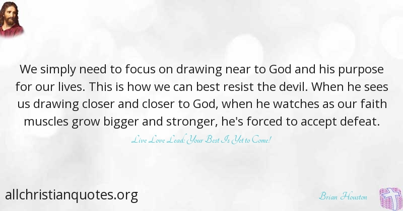 Brian Houston Quote About Focus Need Bigger Lives All